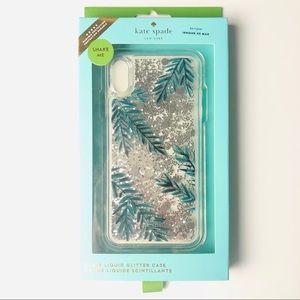iPhone XS Max Glitter Clear Cellphone Case New Box